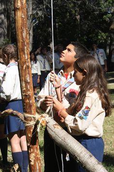 En ceremonia de Banderas
