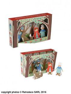 Théâtre de marionnettes Le petit chaperon rouge