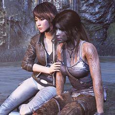 Tomb Raider 2013: Lara & Sam