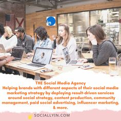 Social Media Agency - The Best Marketing & Advertising Solutions Social Advertising, Social Media Marketing Agency, Influencer Marketing, Build Your Brand, Community Manager, The Help, Management, Content, Button