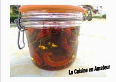 La cuisine en amateur de Maryline: Tomates séchées