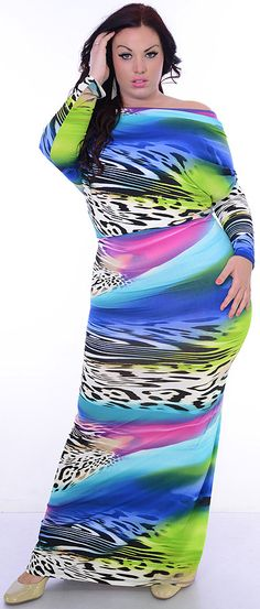 Enjoy This (Plus/Blue/Magenta)-Great Glam is the web's best sexy plus size online store clothing website for 1X 2X and 3X clothes for women and juniors.
