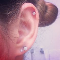 Ear piercing- pretty and edgy, but still classy...