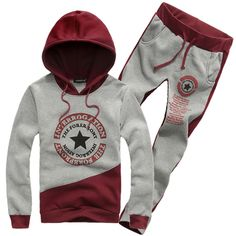 2013 Autumn&Winter Fashion New Slim Cardigan Hoodies Sweatshirt With Trousers,Outerwear Clothing Men.Sports Suit $26.99