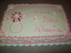 Christianing Cake