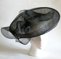 Silver black fascinator hat mother of the by alicehartcouture, $169.00