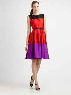 Kate Spade New York - Zahara Colorblock Dress f4b90019c
