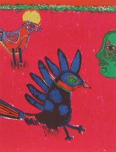 Corneille Lithograph Grafic Art, Cobra Art, Plant Painting, Dutch Painters, Dutch Artists, Vintage Birds, Outsider Art, Art Studies, Ink Art