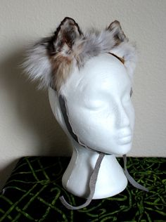 Golden Island fox ears by Lupa. At http://thegreenwolf.etsy.com