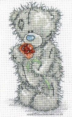 Love You - Tatty Teddy Cross Stitch Kit