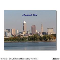 Cleveland Ohio, Lakefront Postcard