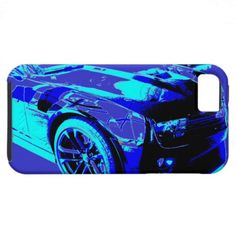 Chevy Camaro ZL1 in showroom Apple iPhone 5 Cases...