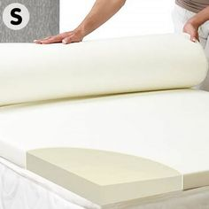 🛍LAY DOWN FOR LESS At #MATTRESSOFFERS - FOR YOUR BEAUTIFUL HOUSE🛍    This soft and luxurious #mattresstopper boasts wide ranging benefits for your sleep and overall health, while offering long-lasting comfort and support for every body type.  Your Foam Mattress Topper will mould itself perfectly to your unique body shape, offering total body support, alleviating pressure placed on joints and provide superior comfort all night long.   #stayhome Queen Mattress Topper, Shape Of Your Body, Comfort Mattress, Good Sleep, Foam Mattress, Fabric Covered, Body Shapes, Total Body, Type