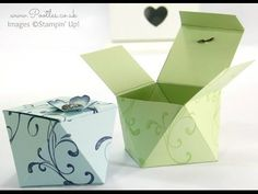 Faceted Gift Box Tutorial using Stampin' Up! Everything Eleanor | Stampin' Up! UK #1 Demonstrator Sam Donald