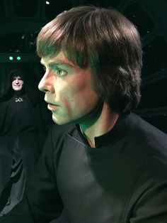 From the Star Wars Exhibit at Madame Tussauds London--Luke Skywalker
