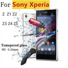 Premium 0.26mm 2.5D 9H Tempered Glass Film Explosion Proof Screen Protector For Sony Xperia Z Z1 Z2 Z3 Z4 Z5 + Cleaning Kit -  http://mixre.com/premium-0-26mm-2-5d-9h-tempered-glass-film-explosion-proof-screen-protector-for-sony-xperia-z-z1-z2-z3-z4-z5-cleaning-kit/  #ScreenProtectors