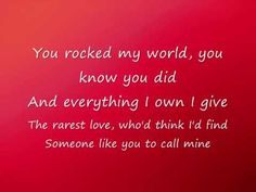 Michael Jackson - You Rock My World * I do not own the song * No copyright infringement intended