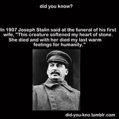 awwwww, that's my tyrant. im on team stalin. Wtf Fun Facts, Funny Facts, Random Facts, History Memes, History Facts, Horrible Histories, Army Quotes, Did You Know Facts, Alternate History