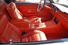 Love this interior! 1968 Ford Mustang