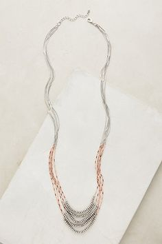 Candlelit Necklace #anthropologie