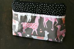 Zipper Bag Pouch Knitters project or Tool Bag by andreacreates