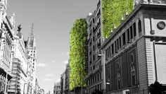 Vacant lots, city squares, a former highway, and even regular city streets are going to be filled up with trees and plantseverywhere you look.
