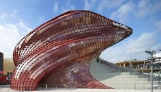 Vanke Pavilion Expo 2015 | Libeskind