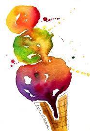 Beautiful ice cream illustration