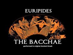 Choral Chant from The Bacchae of Euripides Greek Mythology, Ancient Greek, Ancient History, The Originals, Origins, Tattoos, Art, Art Background, Tatuajes