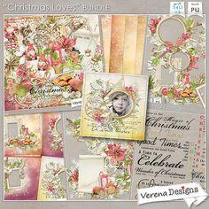 Christmas Loves Bundle by Verena Designs