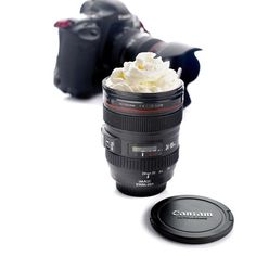 Coffee Lens Emulation Camera Mug Cup Beer Cup Wine Cup With Lid Black Plastic Cup&Caniam Logo Canecas Mugs tazas cafe Thermo Mug, Coffee Travel, Travel Mug, Camera Lens Mug, Mugs Cafe, Appareil Photo Reflex, Stainless Steel Coffee Mugs, Logo Mugs, Beer