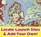 Canoe & Kayak Launch Map   Places to kayak & canoe   Routes - Paddling.net
