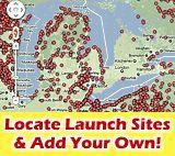 Canoe & Kayak Launch Map | Places to kayak & canoe | Routes - Paddling.net