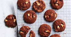 What's better than choc-chip cookies? Double choc-chip cookies! You will not want to share these.