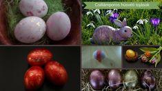 Húsvéti dekorációs ötlet-Csillámporos tojás Easter Eggs