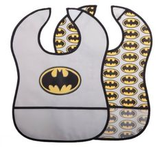 Batman Baby Peva Crumb Catcher Bib Grey One Size Pack of 2 Batman Nursery, Baby Batman, Cute Kids, Cute Babies, Baby Kids, Baby Boy, Batman Outfits, Boy Outfits, Future Batman