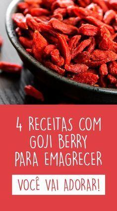 A goji berry é uma fruta de origem chinesa que traz benefícios para a saúde como ajudar a emagrecer, fortalecer o sistema imunológico, manter a saúde da pele e melhorar o humor. #goji #berry #emagrecer