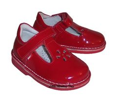 Kid Express Madison Red Patent Leather Shoes