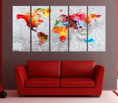 Canvas prints add a unique touch to your home. Modern, stylish and unique design will be the most special piece of your decor. Especially for those who like abstract works, black and white acrylic painting can be prepared in desired sizes  ◆ GALLERY WRAPPED CANVASES We print high quality printer on canvas. 3 cm thick (depth) stretcher bars, side covered Picture.., 100 year guarantee indoor , Satin UV Protective Finish, Ready to Hang ◆ SIZES in inch / centimetres Medium: Inch: each panel 12 x…