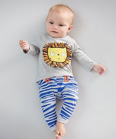 SMILE by Julien Macdonald - Tiger Print Top and Joggers Set   sets & outfits   Mothercare