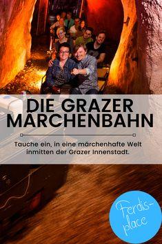 Mitten in der Grazer Innenstadt befindet sich dieses tolle Ausflugsziel. Tauche ein in eine märchenhafte Welt und sei selbst ein Teil der Märchen. Empfohlen für Kinder ab 4 Jahren. #Ausflug #Kind #Familie #Graz #Märchen #Ausflugstipp #Steiermark #ferdis-place Movie Posters, Movies, Road Trip Destinations, Graz, Amazing, Kids, 2016 Movies, Film Poster, Films