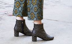 The Most Gorgeous Shoes at New York Fashion Week via @WhoWhatWear