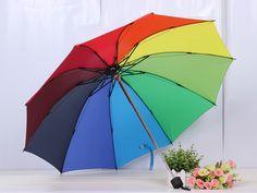 Creaive 8 Ribs Three-folding Rainbow Umbrella High Quality Waterproof Advertising Umbrella #Affiliate