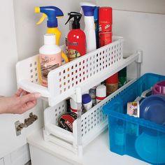 Kitchen Cupboard Stepper Organisers