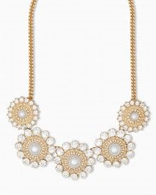 Fallen Snowflakes Necklace. charming charlie