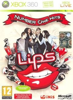 LIPS NUMBER ONE HITS XBOX 360 NUOVO!!!