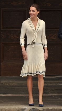 Kate Middleton's Recycled Style. Duchess of Cambridge visits the Province House, Charlottetown, Canada, 4 July, 2011