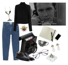 camus my love by najmilsza on Polyvore featuring polyvore мода style Calvin Klein 205W39NYC MANGO Church's Dr. Martens Gucci Moleskine Juliska 032C Riedel fashion clothing