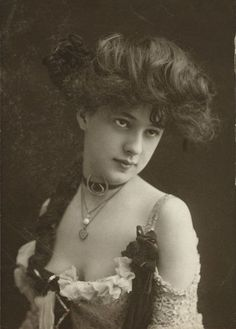 Gibson Girl Hairstyle