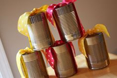 Banana bread in a can..clever..Can't wait to do this.